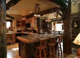 deco cuisine rustique cuisine rustique bois massif deco cuisine rustique bois terrasse