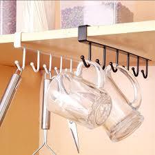 glass kitchen cupboard shelves kitchen cupboard storage rack hanging hook chest storage hanger glass mug shelf organizer holder cupboard shelf 38