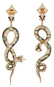 percossi papi earrings diego percossi papi earrings the serpents are restless