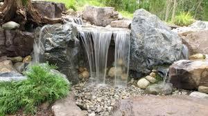 build a simple backyard waterfall youtube