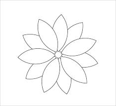 25 unique flower petal template ideas on pinterest paper flower