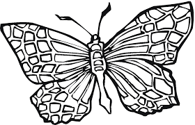 free printable butterfly coloring pages for kids within of