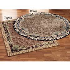 Round Rugs 8 Ft by Floors U0026 Rugs Jungle Safari Animal Print Round Area Rugs For