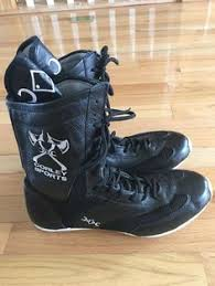 s boxing boots nz mens chop chop corley black boxing boots size 14 nib sporting