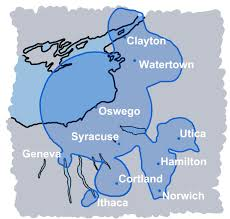 Ithaca New York Map by About Wrvo Public Media Wrvo Public Media