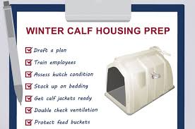 Calf Hutches For Sale Winter Calf Housing 6 Ways To Prepare Now Progressive Dairyman