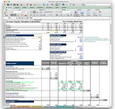 Money Spreadsheet Business Plan Financial Model Template Bizplanbuilder