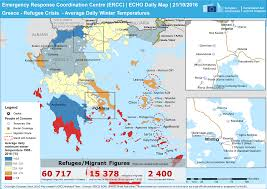 Greece On Map by Delivering Emergency Winter Items To Refugees In Greece European