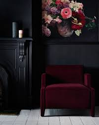 Red And Black Furniture For Living Room by Best 25 Red Walls Ideas On Pinterest Red Bedroom Walls Red