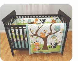garanimals in the woods 3 piece crib set available from walmart