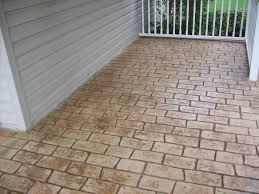 ellicott city stamped concrete maryland curbscape
