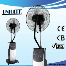 Buy Pedestal Fan Pedestal Fan With Fogging Machine Water Spray Portable Mist Fan