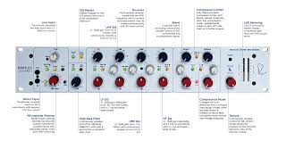 portico ii channel rupert neve mic pre eq and compressor