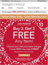 yankee candle cyber monday 2017 sale deals sales 2017
