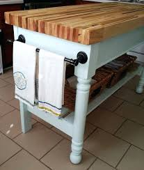 kitchen island butchers block butcher block for kitchen island image of awesome blue kitchen