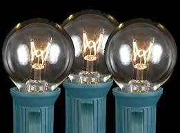novelty lights 25 pack g30 outdoor string light globe