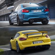 latest porsche bmw m2 vs porsche cayman gt4