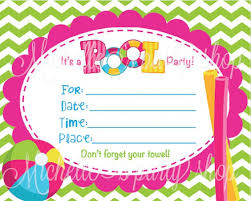 pool party invitations 2017 thewhipper com