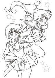 sailor moon going to coloring page more manga coloring