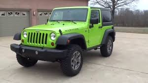 wrangler jeep green hd video 2013 jeep wrangler rubicon gecko green for sale see www