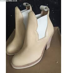 womens boots uk size 2 discount acne studios camel leather ankle boots uk size 2