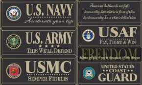 wood signs u0026 sayings military wood signs page 1 country