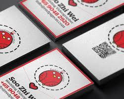 Singapore Business Cards Red Pigeon Studio Business Card Design U2013 Lemon Graphic Singapore