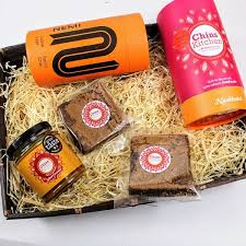 food gift boxes brownie chai tea gift box food gifts boroughbox marketplace