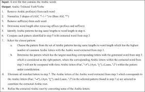 a novel root based arabic stemmer sciencedirect