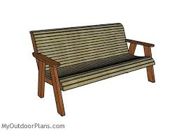 Free Wooden Garden Bench Plans by Outdoor Bench Plans Free Myoutdoorplans Free Woodworking Plans