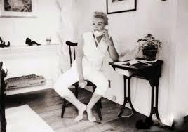 Marilyn Monroe House by Rare Marilyn Monroe The Telephone Sitting By Sam Shaw 1957