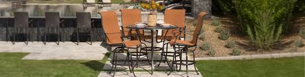 Hanamint Chateau by Valbonne Sling Patio Furniture Luxury Outdoor Furniture
