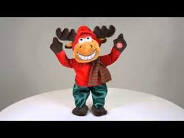 Moving Reindeer Christmas Decorations by Animated Reindeer Christmas Decoration Xs2903 Youtube