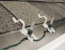 christmas light gutter hooks outdoor light hooks sacharoff decoration