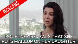 Mother Nature Makeup For Halloween by I Make Sure It U0027s Natural U0027 Kourtney Kardashian Reveals She Puts