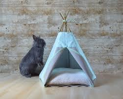 Rabbit Beds Enchanting Dog Bed Teepee 101 Pet Teepee Bed Australia Inspiring