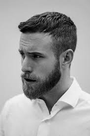 mens short hairstyles middle mens short hairstyles with beard 25 unique short hair with beard