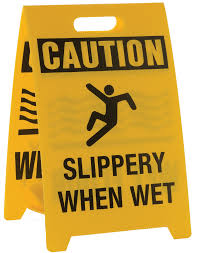 Slippery Floor Safety Flag Stands Caution Sign Stand Safety Flag Co Of America