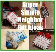 xoxo grandma five super simple neighbor gift ideas for christmas