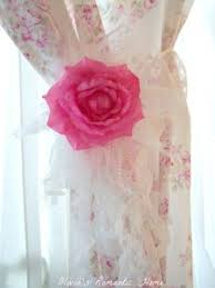Shabby Chic Tie Backs by Shabby Chic Curtains And Window Dressing Ideas The Shabby Chic Guru