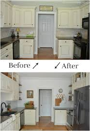 diy kitchen cabinets kreg kitchen cabinet facelift at home with the barkers
