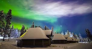 finland northern lights hotel accommodation northern lights village