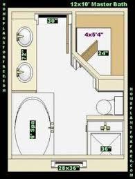 floor plans for bathrooms 8 x 12 master bathroom floor plans google search bathroom