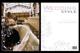 Wedding Magazine Template Wedding Magazine Frame Cover Photoshop Templates Psd V3 Ebay