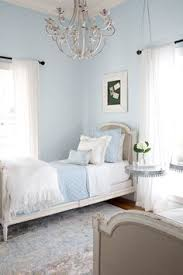 Light Blue And White Bedroom Soft Light Blue Master Bedroom With Blue Pillow Touches Home