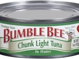bumble bee chunk light tuna bumble bee foods tri union seafoods recall canned chunk light tuna