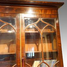 Narrow Mahogany Bookcase by William Iv Mahogany Bookcase Antiques Atlas