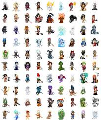 creatures and classes by calcol28 on deviantart