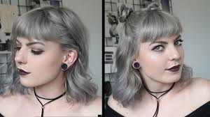 cute and easy hairstyles for short hair youtube