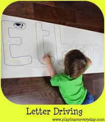 play and learn everyday letter driving preschool learning tools